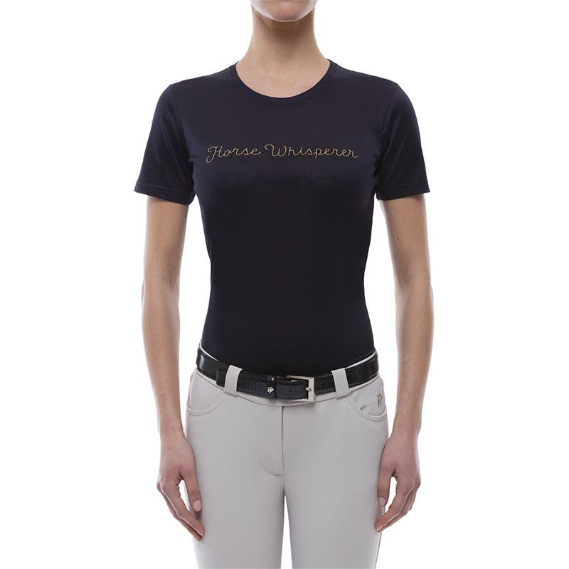 Horse Whisperer Tee Shirt (Navy)