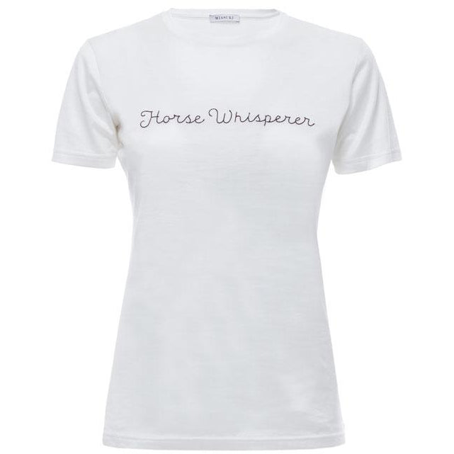 Horse Whisperer Tee Shirt (Off White)