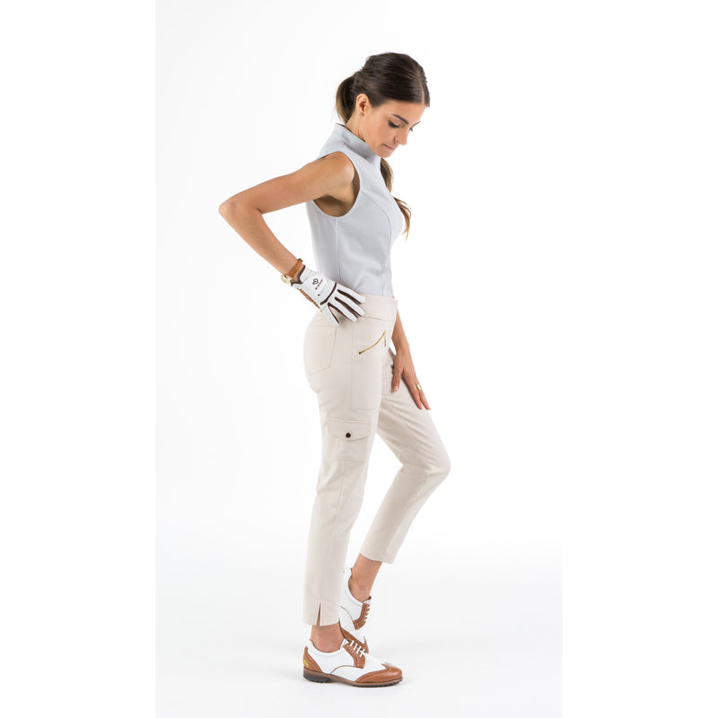 Monarch Beach Petite Golf Pant (Beige)