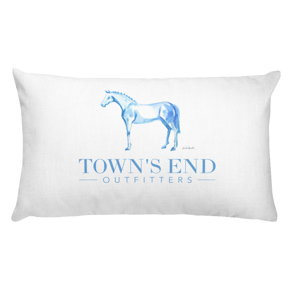 The Essential Equestrian Collection Throw Pillow