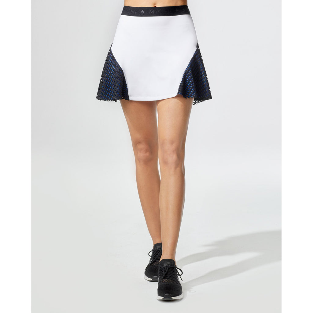 Match Skirt (White/Blue/Black)