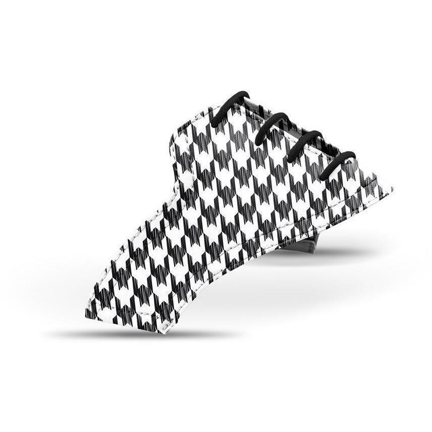 Interchangeable Golf Shoe Saddle (Monos Houndstooth)