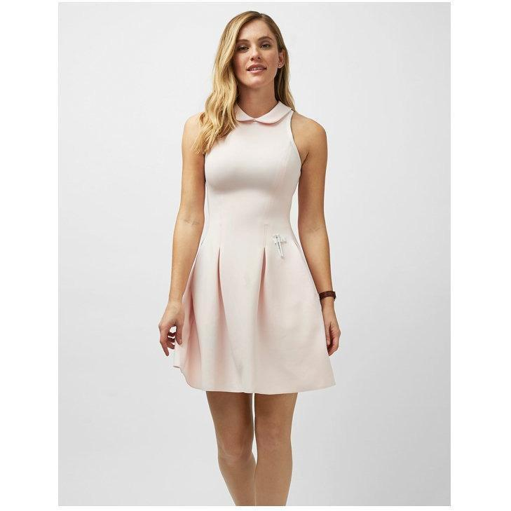 Dune Racerback Dress With Collar (More Colors Available)