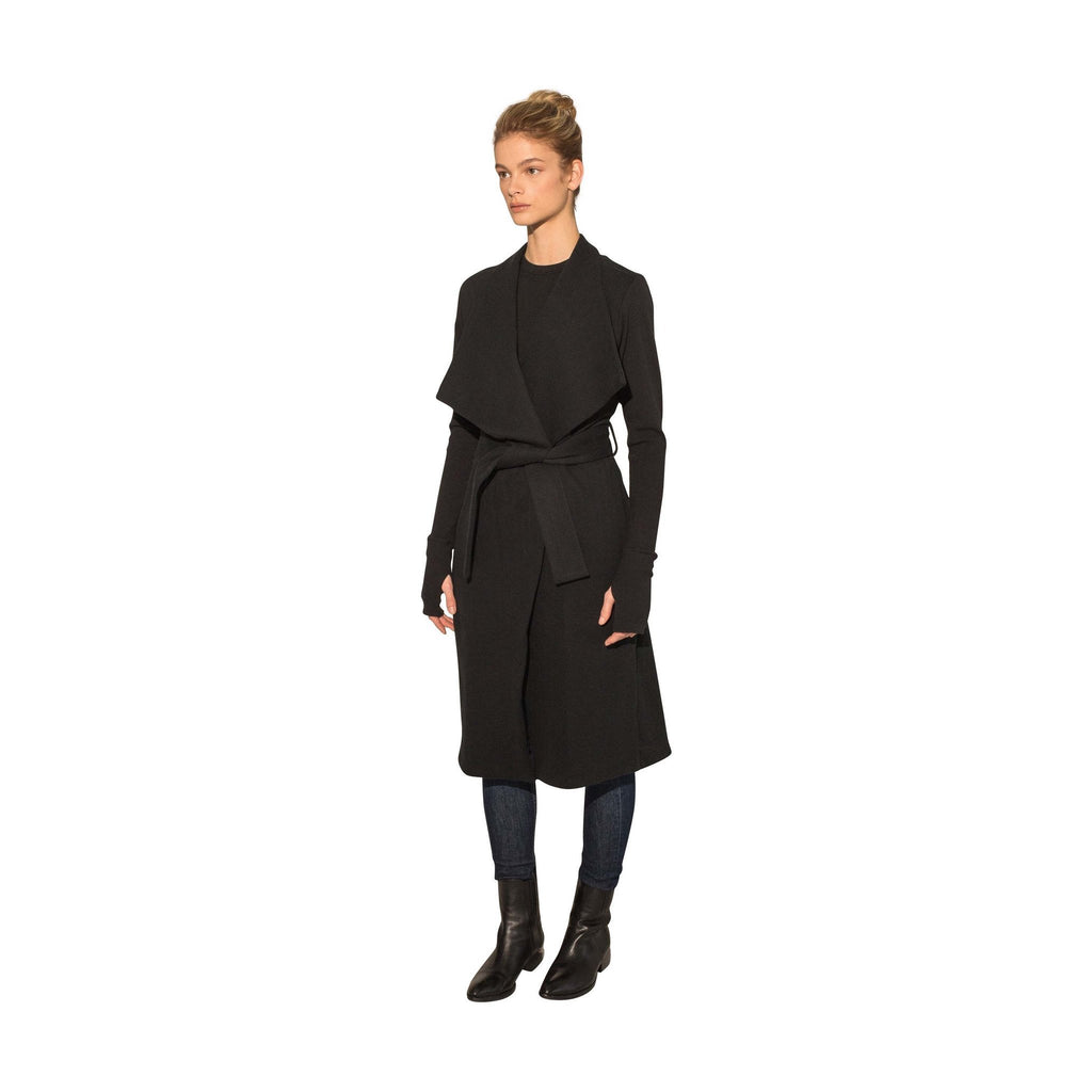 The Wrap Coat (Black)