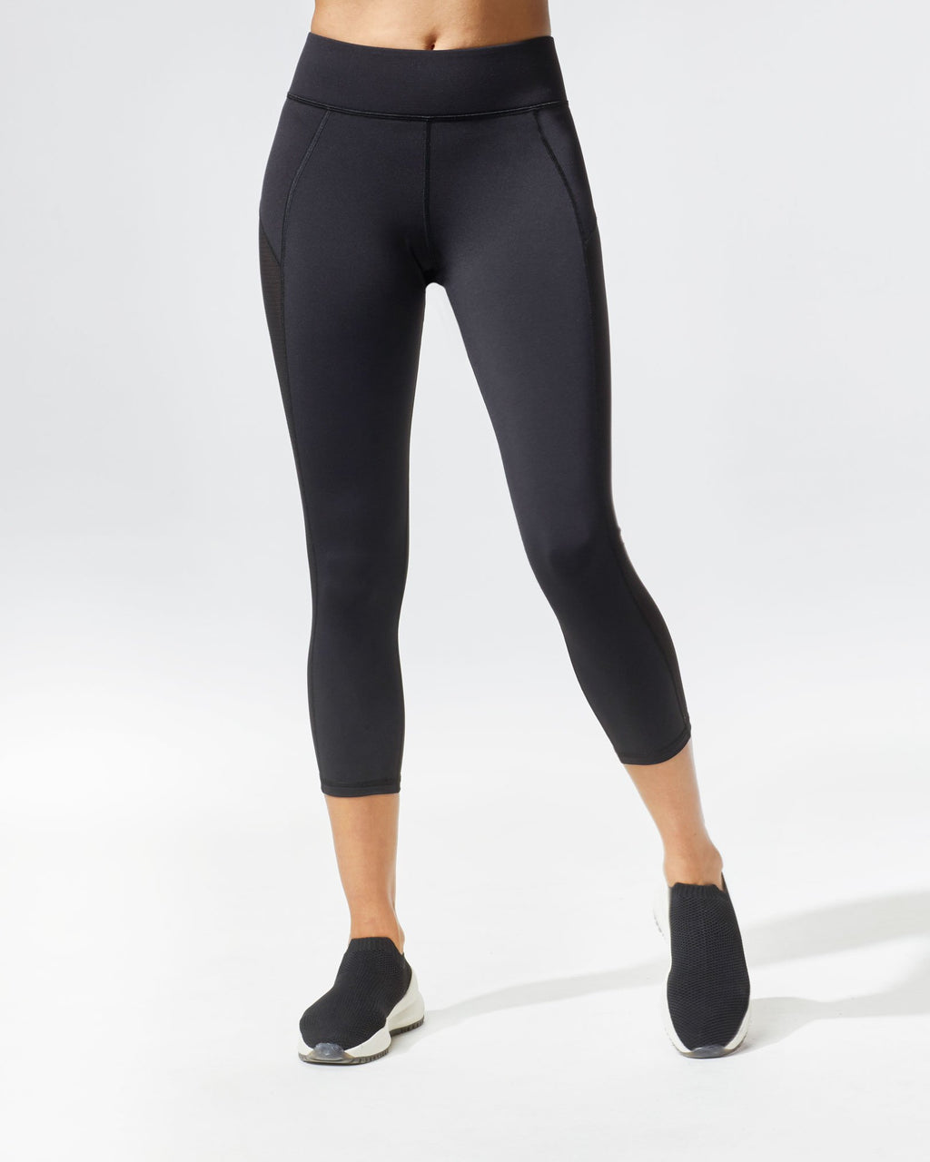Stardust Crop Legging (Black)