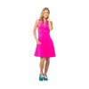 Fit & Flare Golf Dress (Pink)