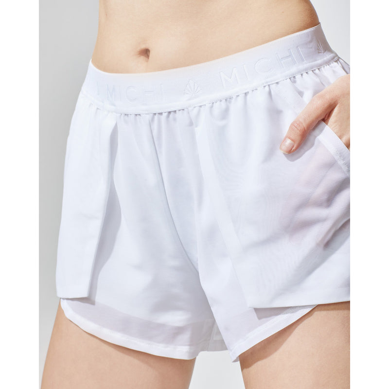 Rally Short (White)
