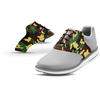 Interchangeable Golf Shoe Saddle (Camouflage w Chocolate Laces)