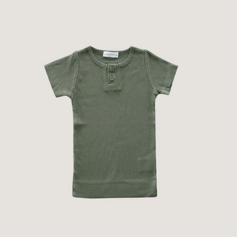 Cotton Shortsleeve Tee- Laural