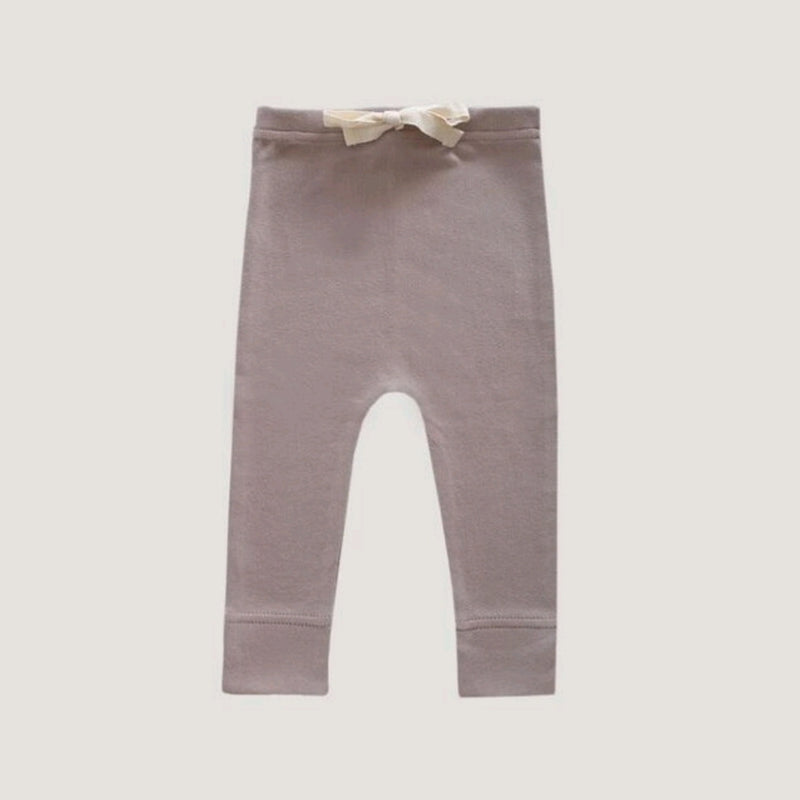 Organic Cotton Interlock Alex Legging Sweetpea