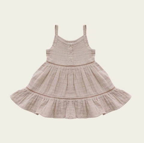 Organic Cotton Muslin Hazel Dress Tuscany