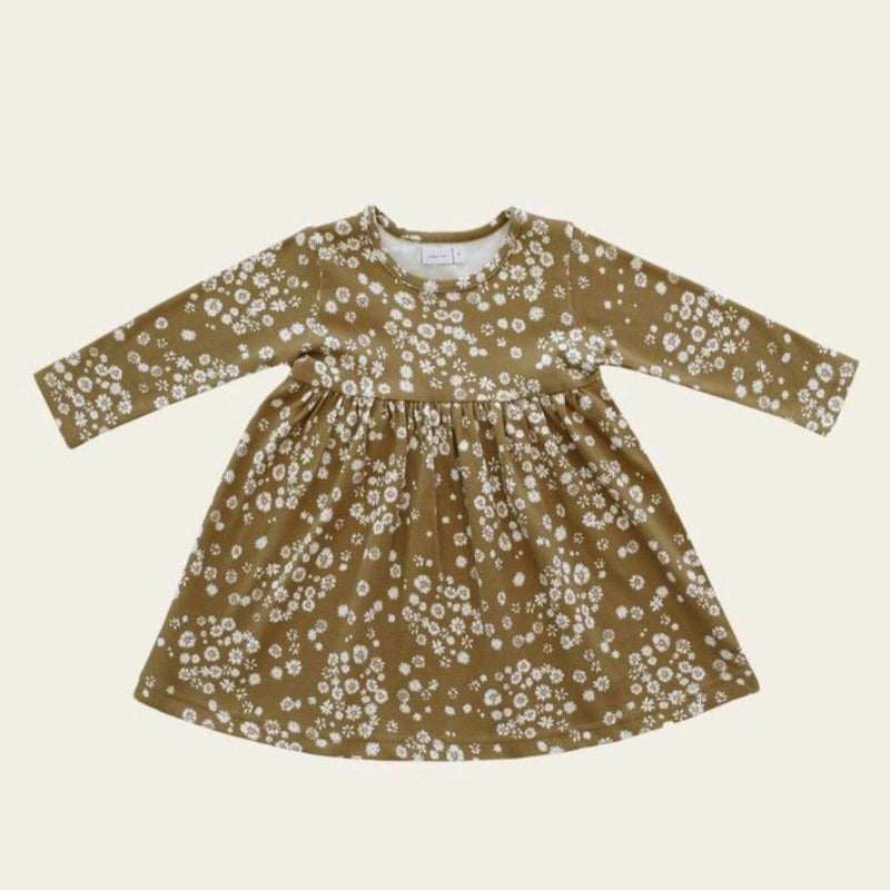Organic Cotton Pixie Dress Daisy Floral