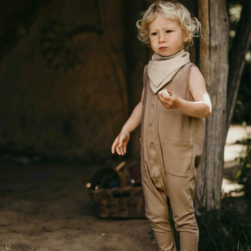 The Free-Range Playsuit Camel