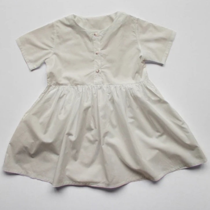 The Simple Dress Undyed