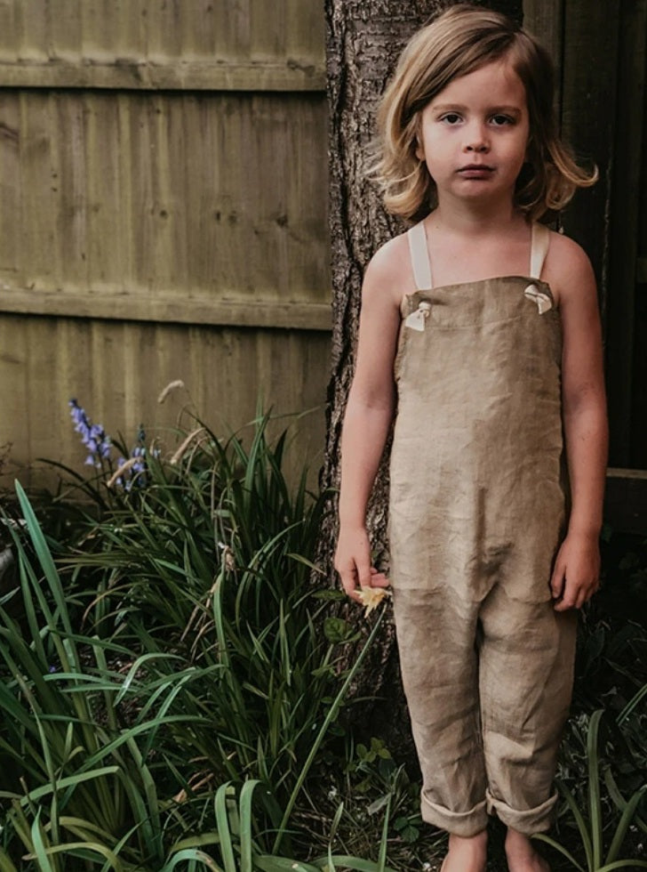 The Linen Overall Camel