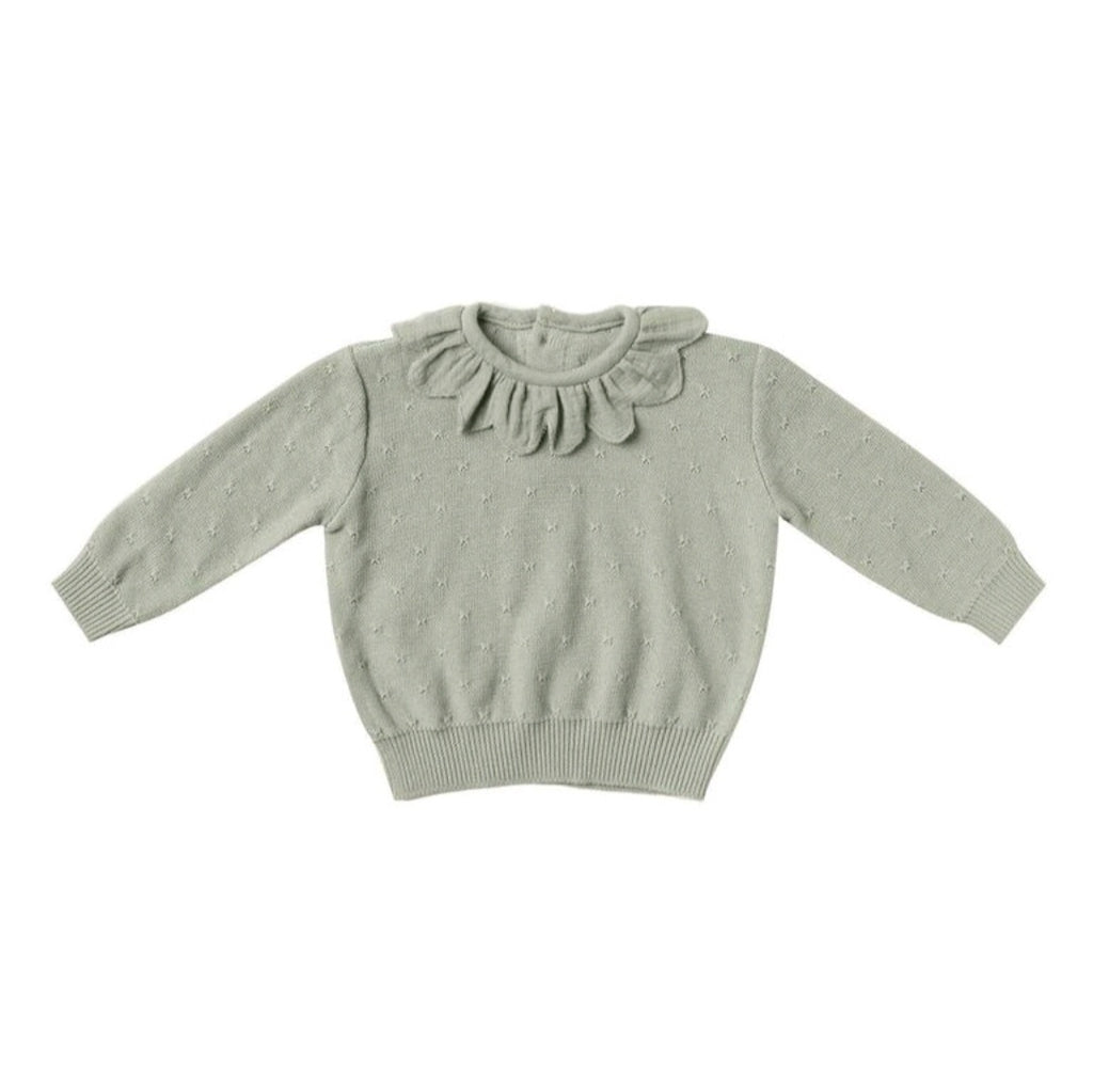 PETAL KNIT SWEATER | SAGE