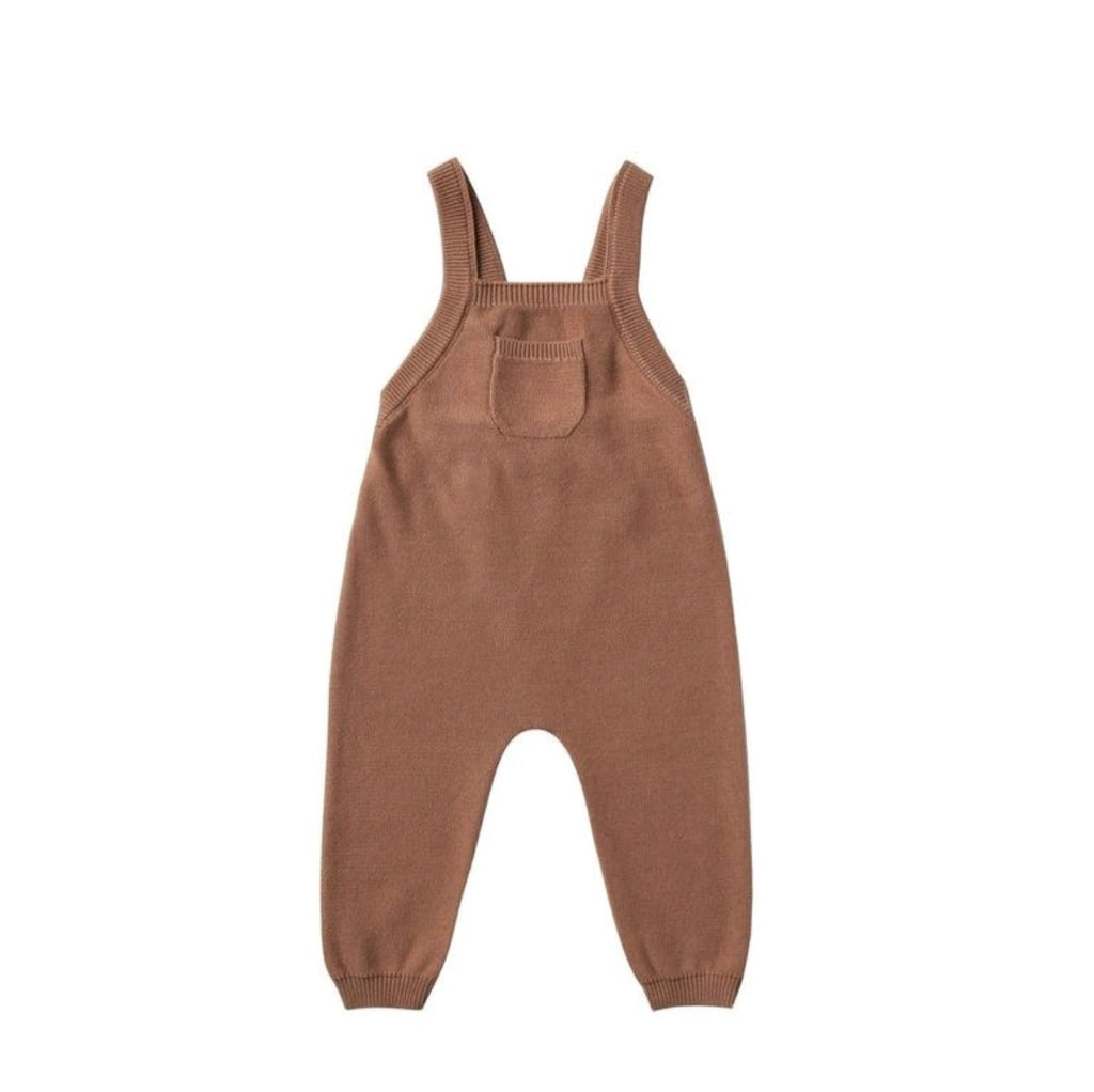 KNIT OVERALL | CLAY