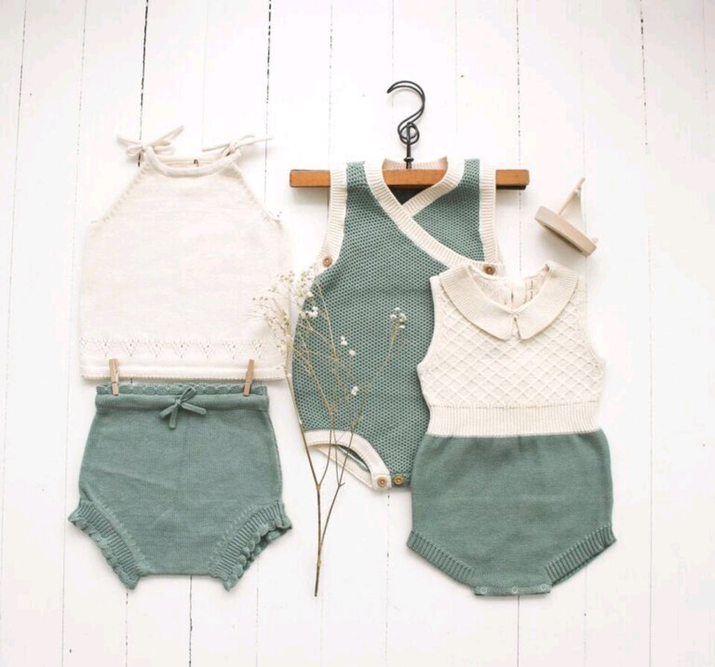 Shortie Knit Bloomer Moss