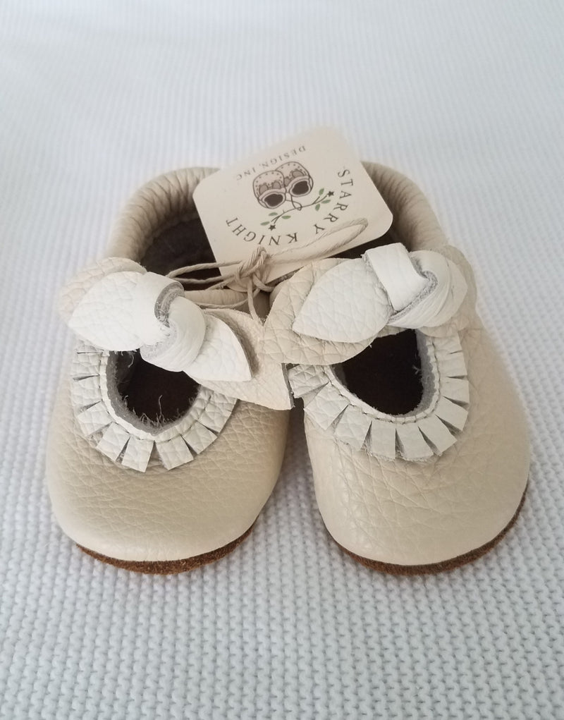 BOW Cream Mary Jane MOCCS Baby and Toddler