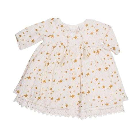 Organic Cotton Pixie Dress Bloom Lulu Floral