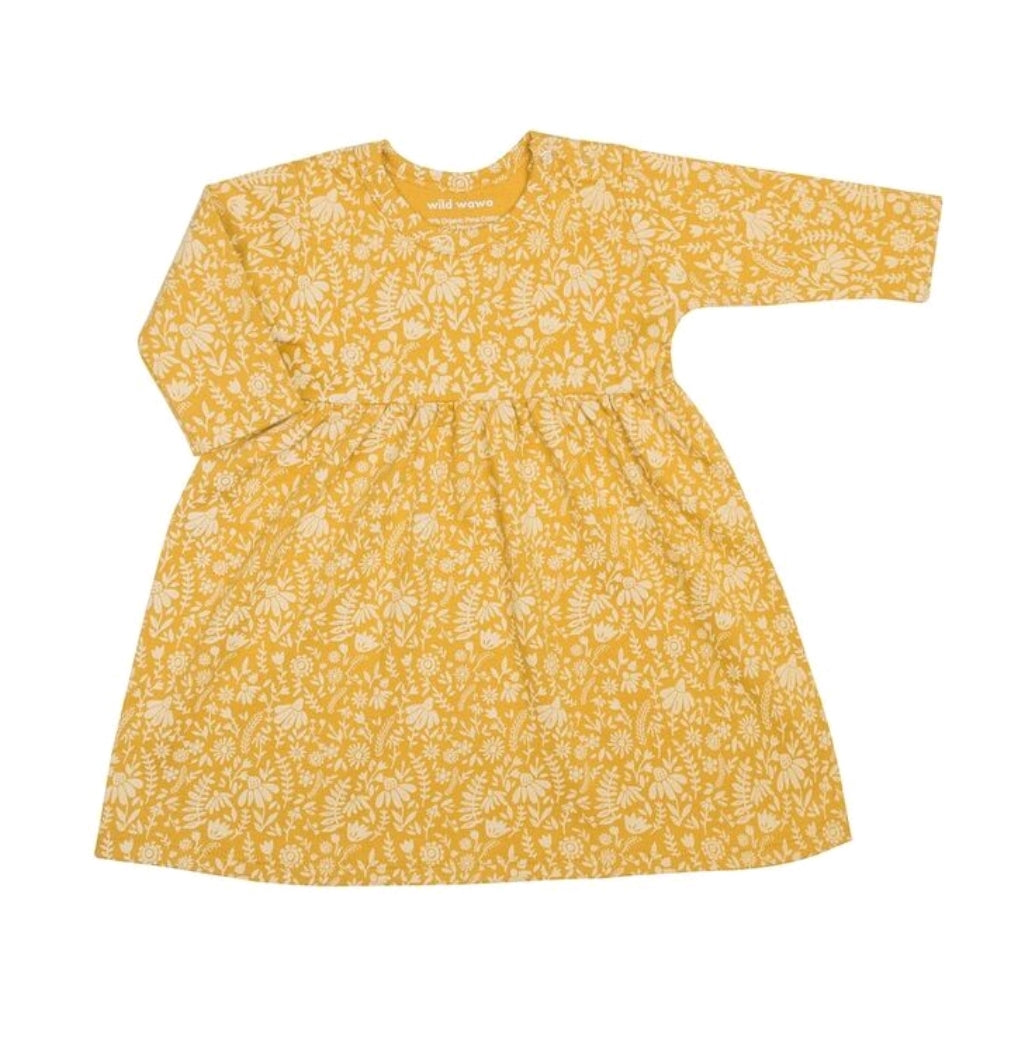 Ella Dress Goldenrod