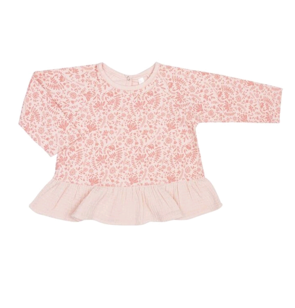 Ruffle Top Rosebloom