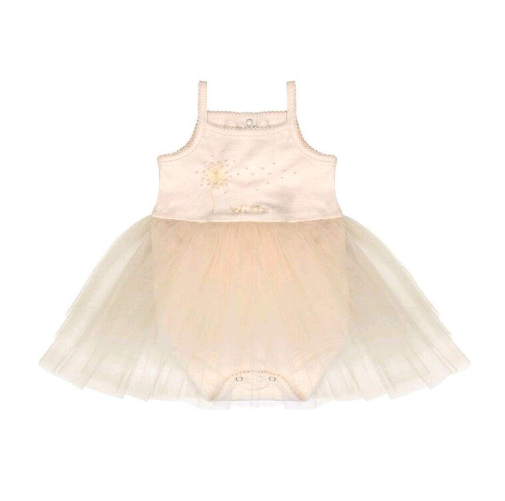 Wish Tutu Onesie Cream