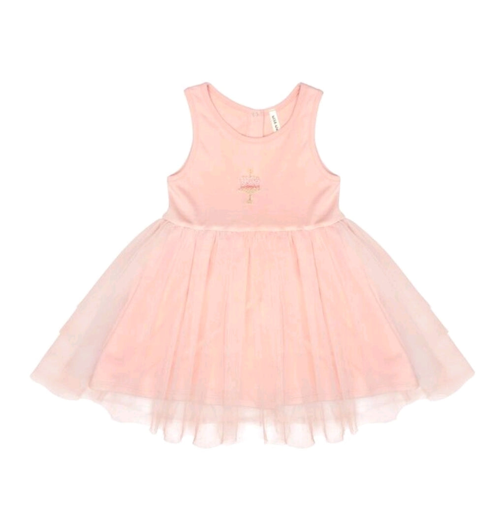 Birthday Tutu Dress Petal
