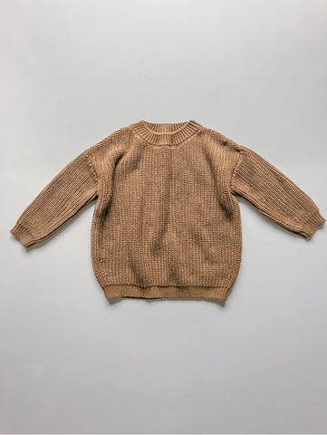 The Chunky Cardigan Oatmeal ~ OCTOBER PRE-ORDER