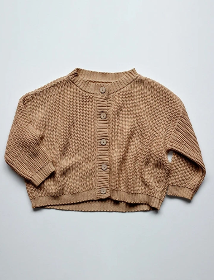 The Chunky Cardigan Caramel