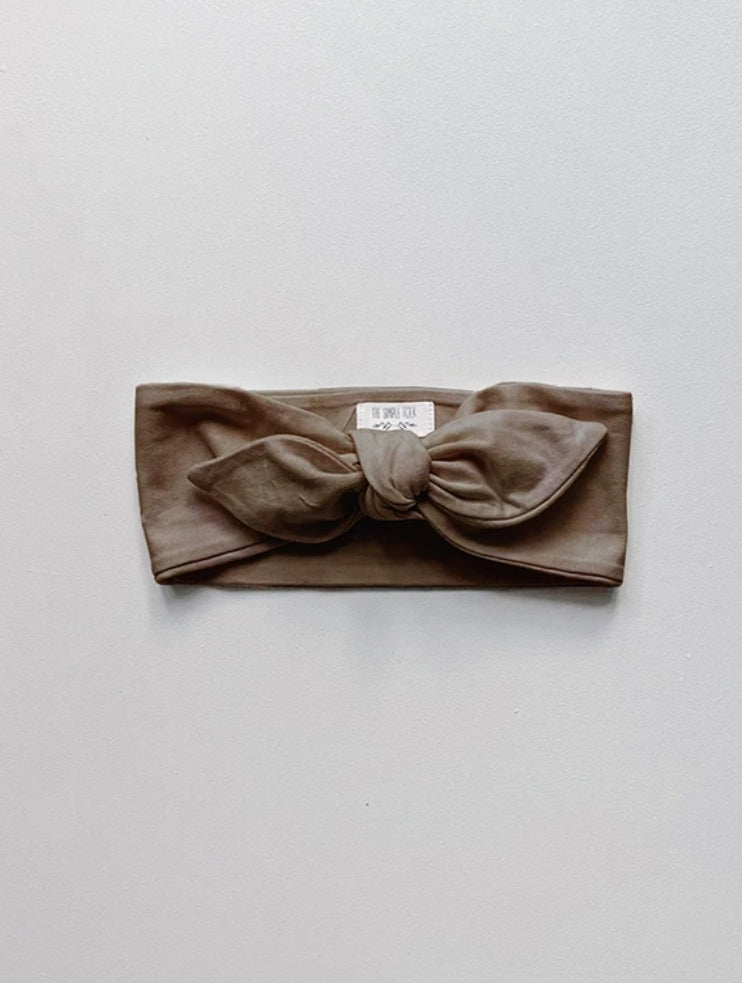 The Everyday Headband Walnut