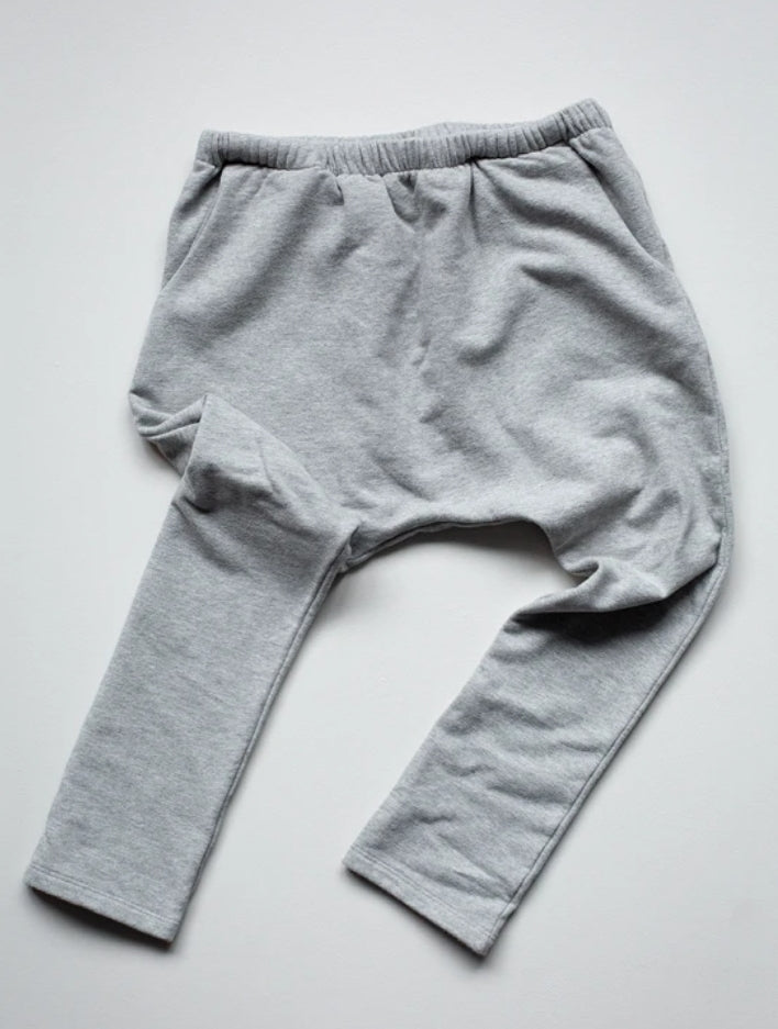 The Fleece Trouser Grey Melange