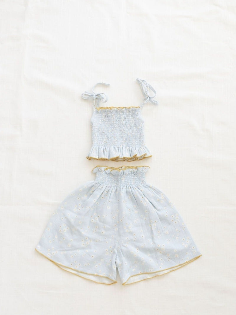 smocked top - daisy