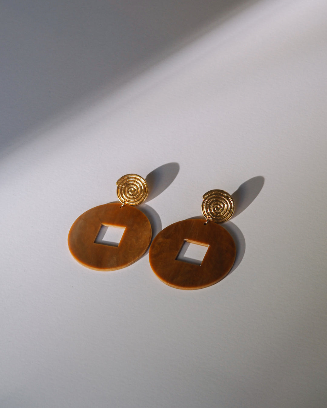 Circle Serpentine Earrings