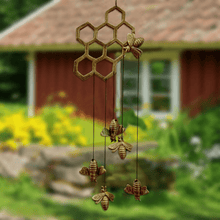 Load image into Gallery viewer, Honey Bee Wind Chime