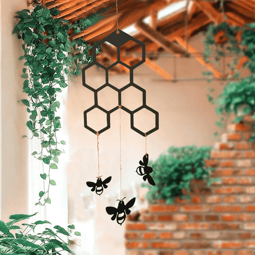 Honeycomb Wind Chime