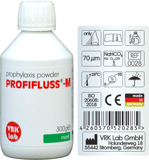Prophylaxis Powder (Mint) Profifluss - M