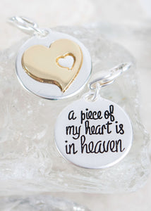 Piece of My Heart Charm