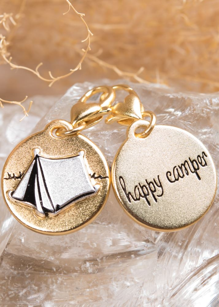 Happy Camper Charm