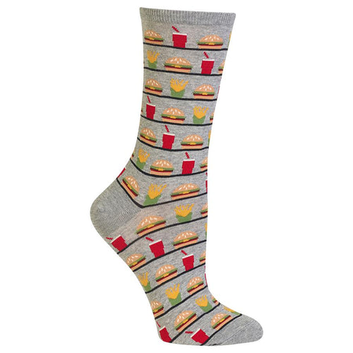 Hamburger Fries Socks
