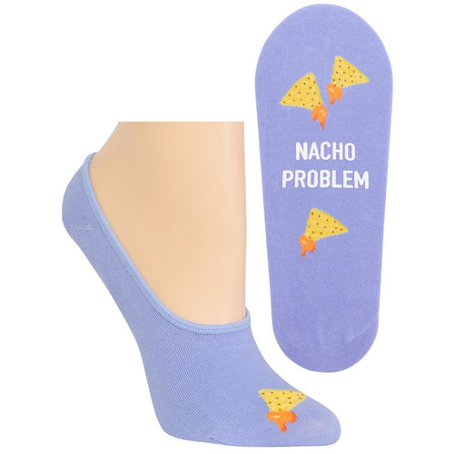Nacho Problem No Show Socks
