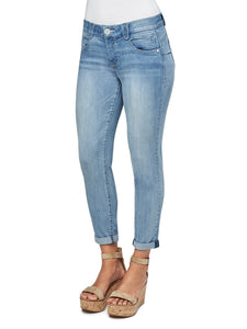 """Ab"" Solution Ankle Skimmer Jean"
