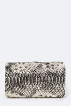 Load image into Gallery viewer, Snake Skin Embossed Wallet
