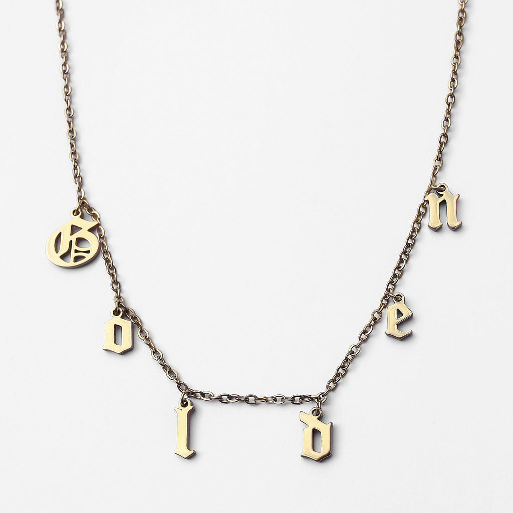 Personalized Custom Charm Necklace - Classic