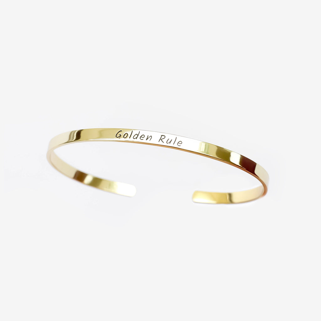 Personalized Custom Engraved Bracelet - Elegant