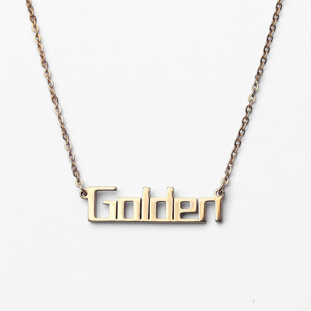 Personalized Custom Name Necklace - Bold