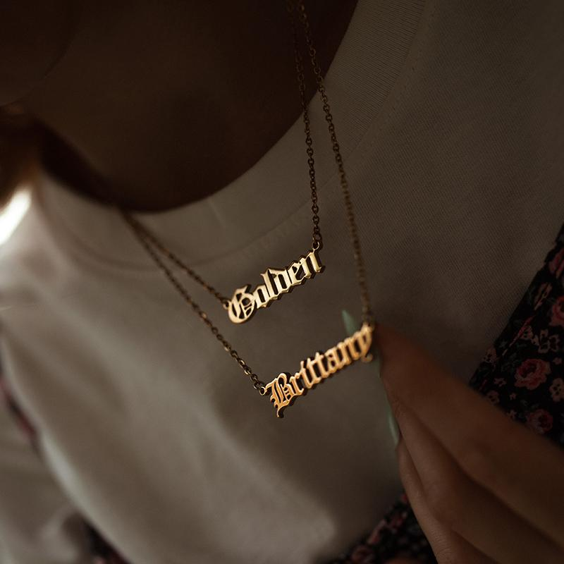 Personalized Custom Name Necklace - Classic