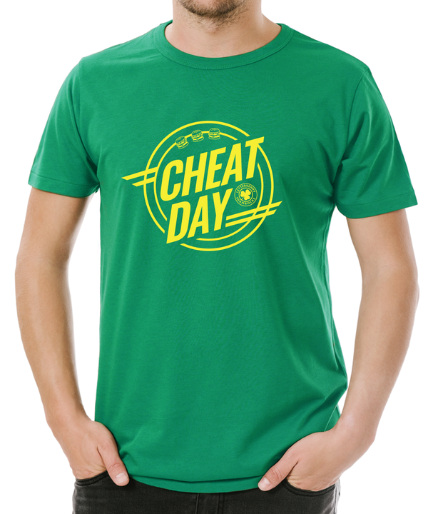 Cheat Day Kelly Green T-Shirt