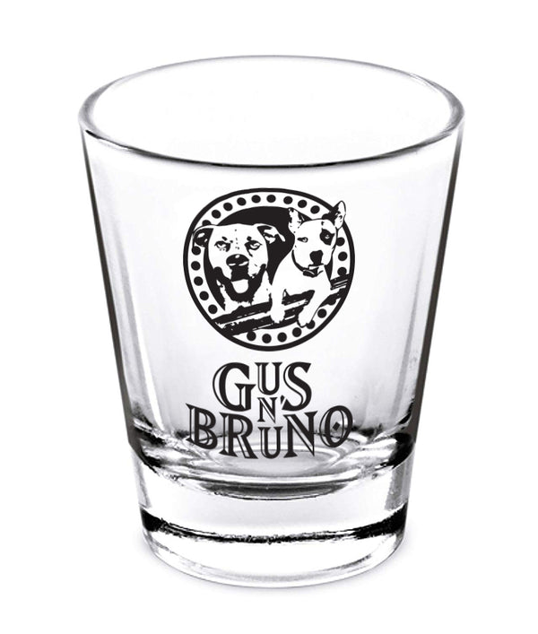 Gus N Bruno Shot Glass
