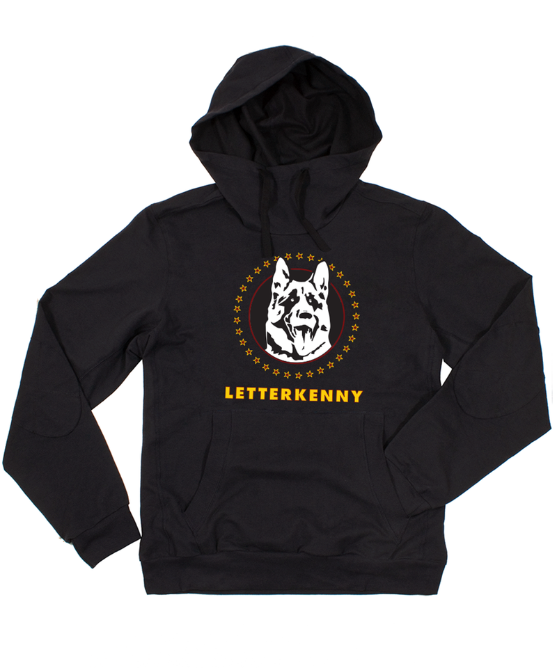 Letterkenny Badge Black Hoody